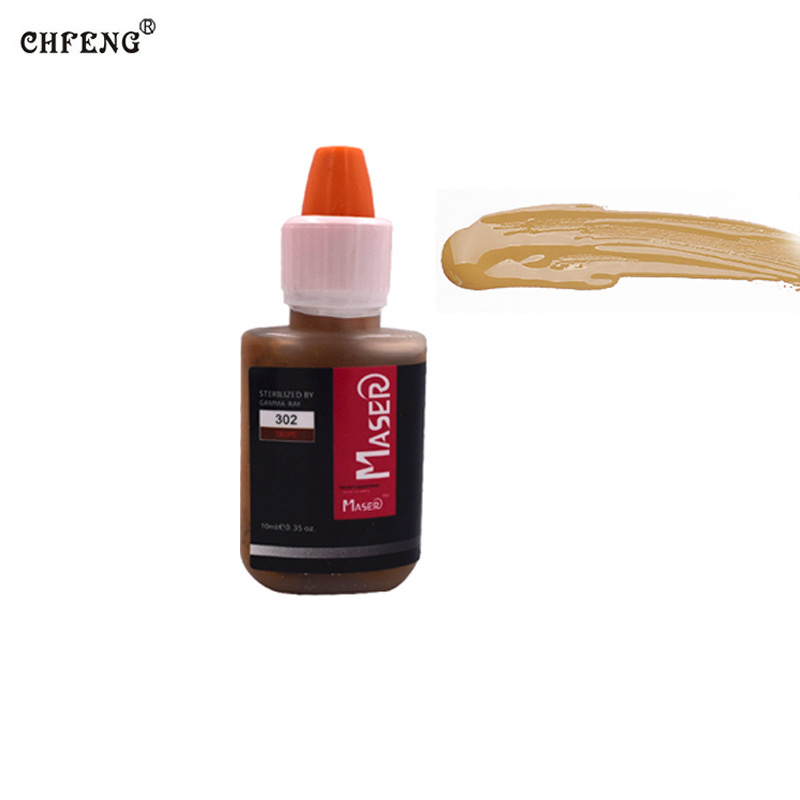 Makeup Tattoo Pigment Inks 1 Pcs Permanent Makeup Tattoo Supply Eyebrow Eyeline Lip Microblading Embroidery Cosmetic Beauty