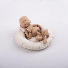 3 PCS Newborn Photography Props Baby Posing Pillow Basket Studio Infant Photoshoot Accessories