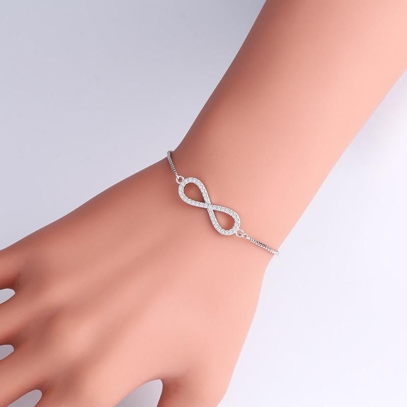 Aliexpress.com : Buy OCESRIO Cubic Zirconia Stone Infinity ...