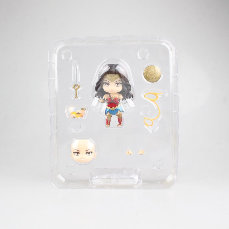 DC Anime Justice League Wonder Woman Hero 39 s Edtion 818 Nendoroid PVC Action Figure Collectible Model Kids Toys Doll XMAS Gift in Action amp Toy Figures from Toys amp Hobbies