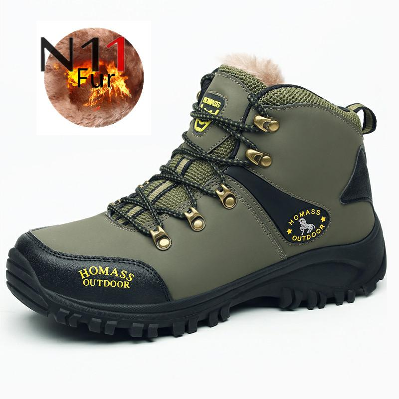 N11 Brand Big size New Men Boots for Men Winter Snow Boots Warm Fur&Plush Lace Up High Top Fashion Men Shoes Sneakers Boots ремни diesel x04720 p1005 t6083