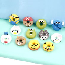 Donut Supplements Charms for Slime DIY Candy Polymer Filler Addition Slime Accessories Toys Lizun Modeling Clay Kit for Kids E