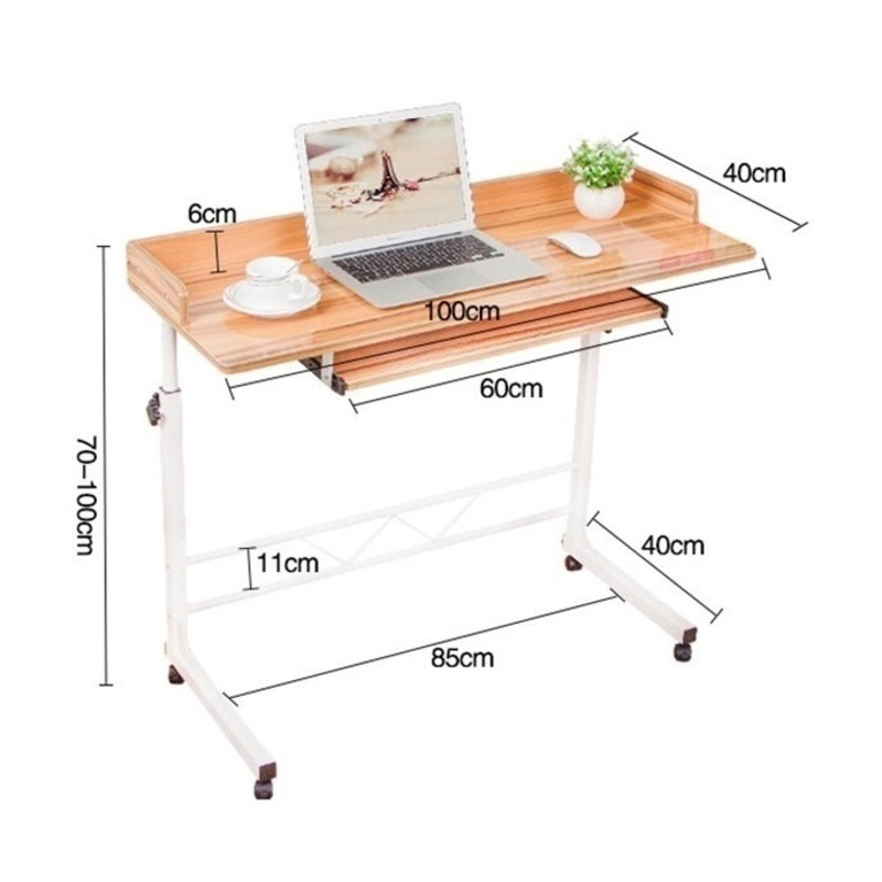 2SK#6321 The simple household Connaught notebook comter bed desktop bedside mobile lifting desk lazy learning FREE SHIPPING high quality simple notebook computer desk household bed table mobile lifting lazy bedside table office desk free shipping