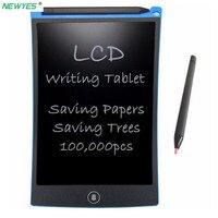 NEWYES 8,5 дюймов ЖК-планшет для письма Цифровой Планшет для рисования почерк колодки портативный электронный планшет ультра-тонкая панель
