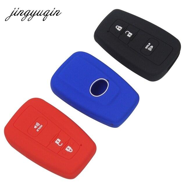 jingyuqin 2/3 btn chiave della copertura del silicone fit for