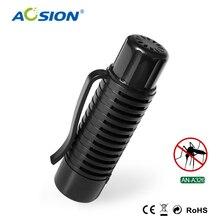 Free shipping AOSION Mini Portable Ultrasonic Mosquito Repeller repelente de mosquito pest reject anti mosquito repeller