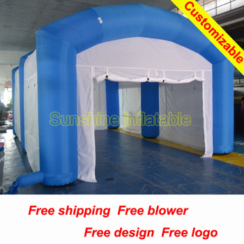 Inflatable Tent Car Wash