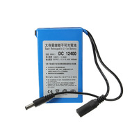 High Quality Super Rechargeable Protable Lithium Ion Battery D C 12V 4000mAh With Plug