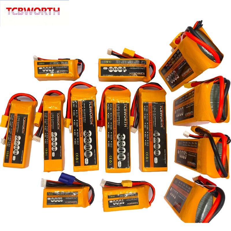 lipo bateria 5200 4s v 5200mah 30c de tcbworth rc lipo 03