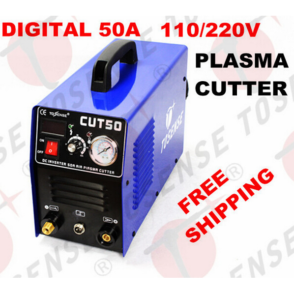 Free shipping 2016 New Plasma Cutting Machine CUT50 220V voltage 50A Plasma Cutter With PT31 Free Welding Accessories quality assurance panasonic air plasma cutting accessories reasonable price tips plasma electrodes