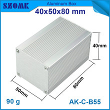 1 piece customized and anodizng alumium cabinet for electronic instrument housing 40*50*80mm
