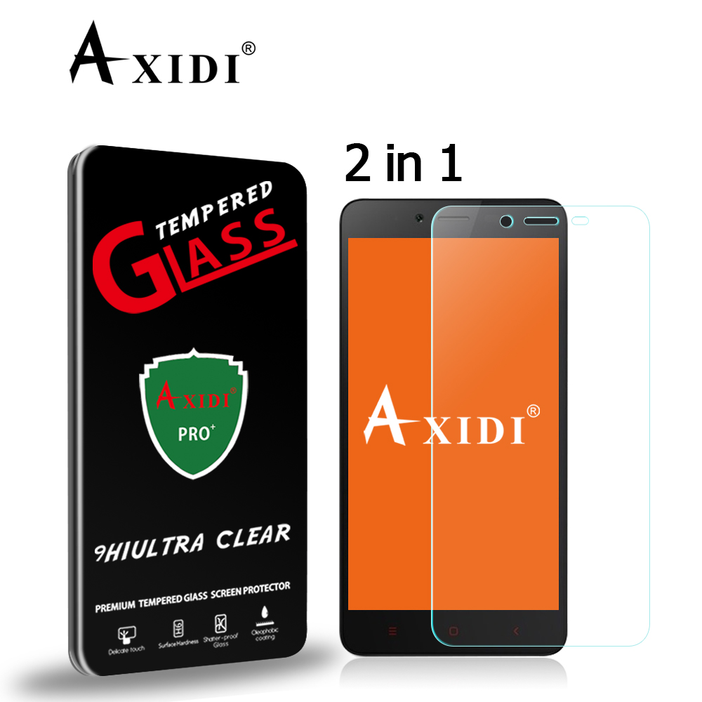 Axidi Frosted Tempered Glass For Xiaomi Redmi Note 2 9h 25d No Prime Fingerprint Screen Protector In Phone Protectors