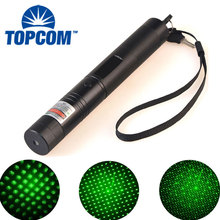 Big discount [Free ship]High power Green Laser Pointer 5mW Powerful Laser flashlight Professional Lazer pointer For Teaching and Outdoor