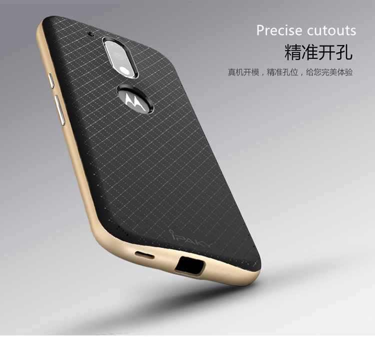 competitive price b9f59 dbd5b US $4.99  Aliexpress.com : Buy For Moto G4 Plus / G4 Case Cover iPaky Hard  Plastic + Soft TPU Silicone Case for Moto G4 Plus Cover 2 in 1 Protective  ...