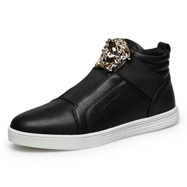 a2d9b94299bec 2016 nuevos hombres zapatos casuales otoño e invierno zapatos bajos de  estilo Británico de marea modelos