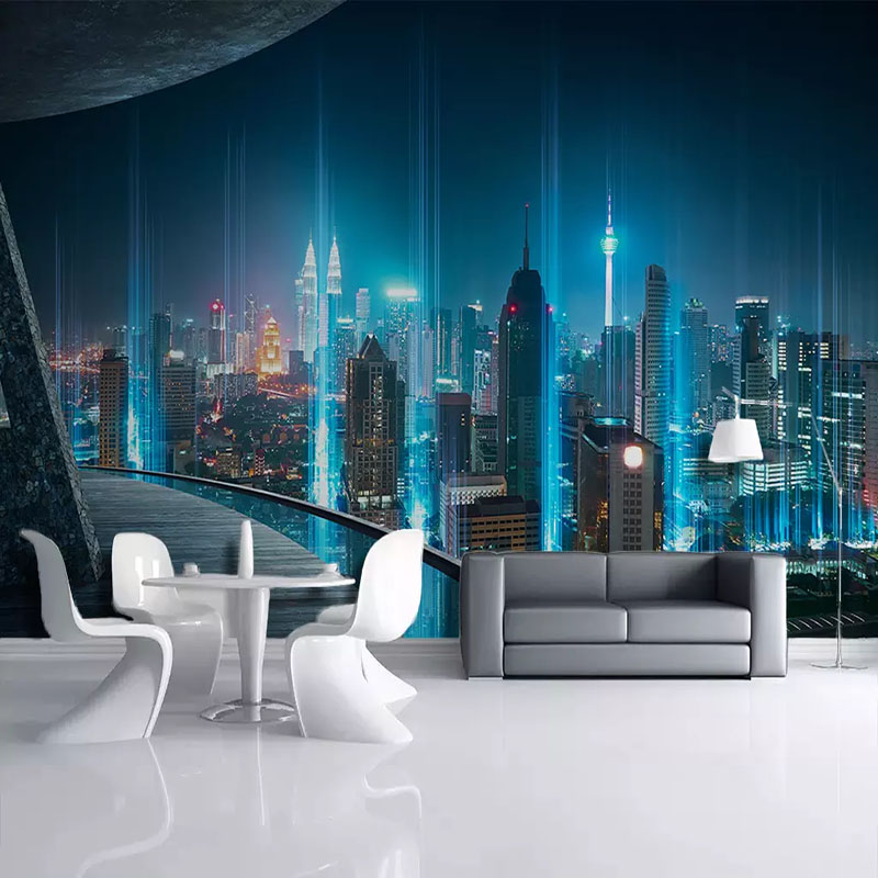 Custom Photo Wallpapers Modern Industrial Wind City Background Wall Painting Creative Restaurant Cafe Decoration Wall Cloth 3 DCustom Photo Wallpapers Modern Industrial Wind City Background Wall Painting Creative Restaurant Cafe Decoration Wall Cloth 3 D