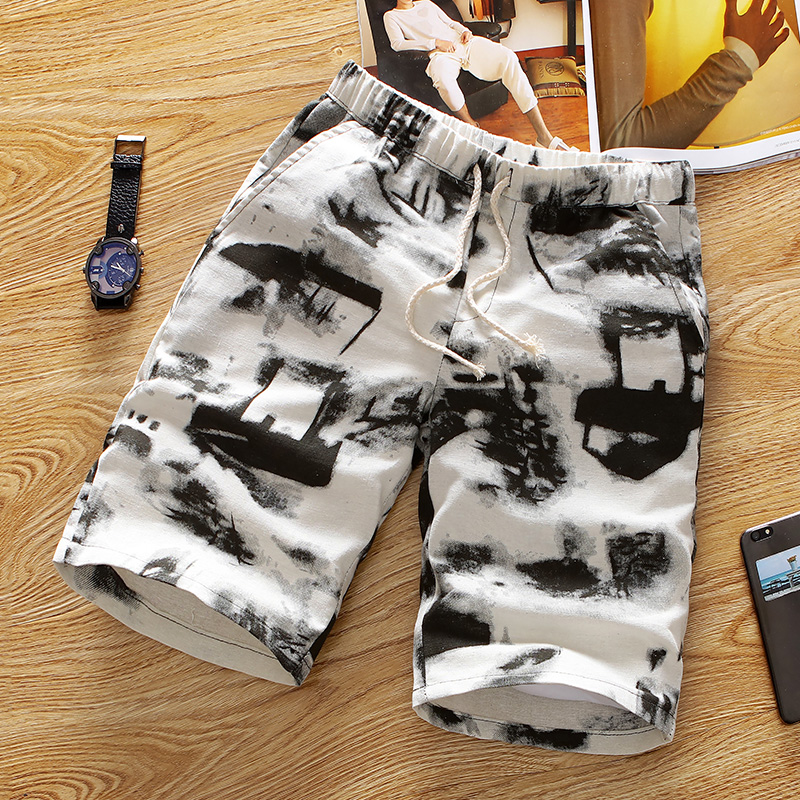 CS1449 2019 Summer Running Swimming Beach   Shorts   Summer men's   board     shorts   bathing suit   shorts   de bain swimsuit