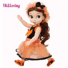 2016 New Fashion Doll Accessories Dress Clothes Halloween Style Top Skirt Shoes Headband Wear Fit 18
