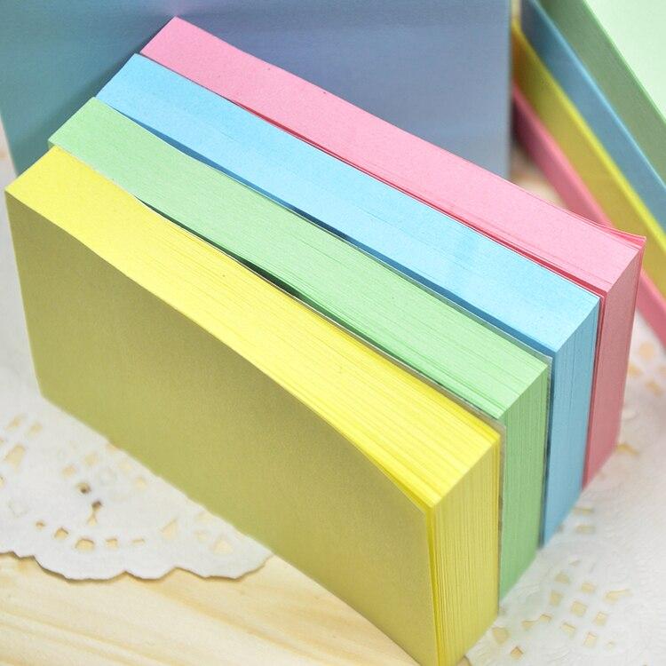 1pc Korean Stationery Colorful Memo Sticker Cute Sticky Notes Memo Pad