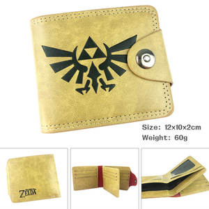 PU Wallet Link-Zelda Purses Card Pocket Money-Bag Unisex Casual Gifts Anime New