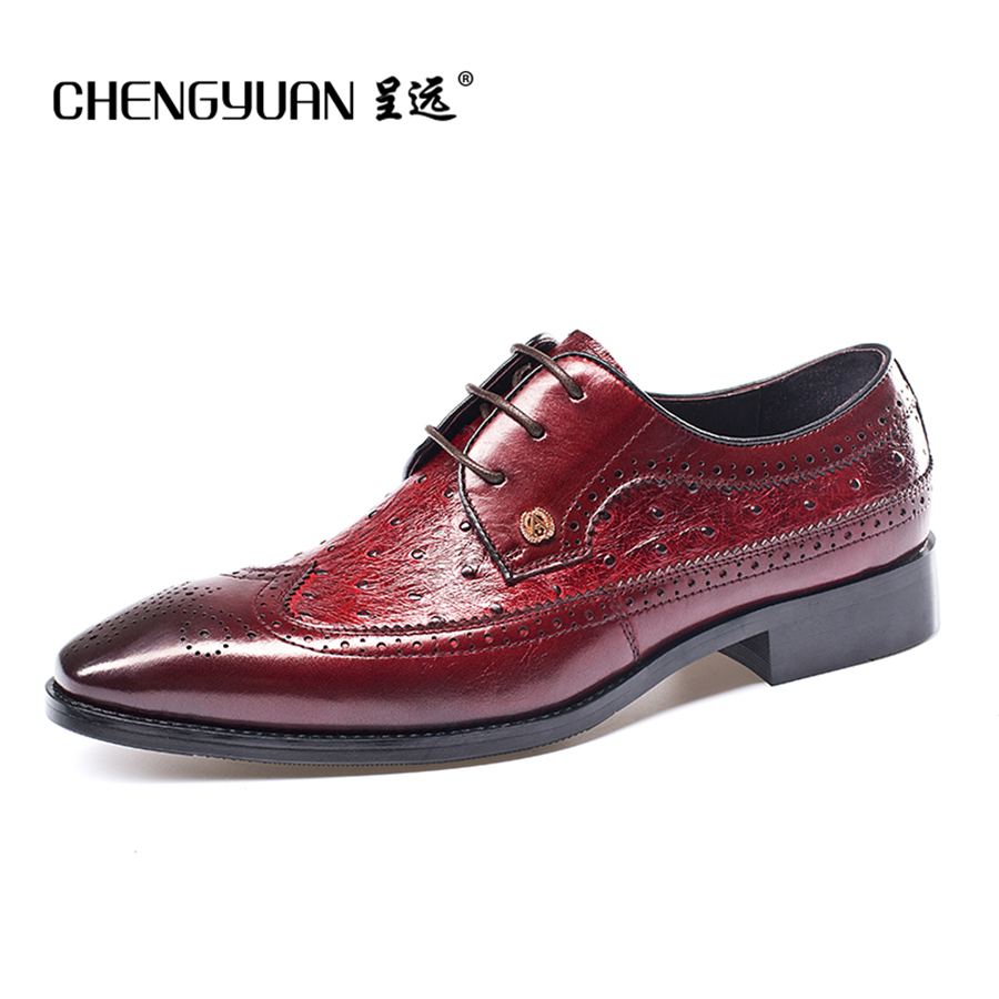 Men natrual Leather wedding shoes for mens flats lace up business black red luxury Casual Leather men Shoes party Shoes men s genuine leather fashion casual lace up flats shoes party wedding shoe for men business bv oxfords shoes free shipping