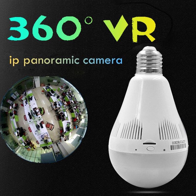 VR 360 degree wifi Fisheye camera v380 software wireless Panoramic