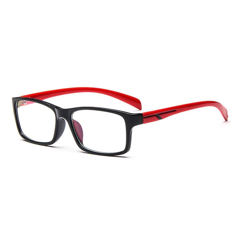 2015 men customize myopia eyeglasses optical fashion plain mirror eyewear frame vintage square eyeglass frame oculos