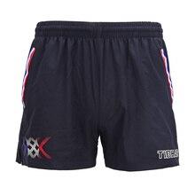 Оригинальные Tibhar новые шорты для настольного тенниса для мужчин и женщин, французская национальная команда, одежда для пинг-понга, спортивная одежда