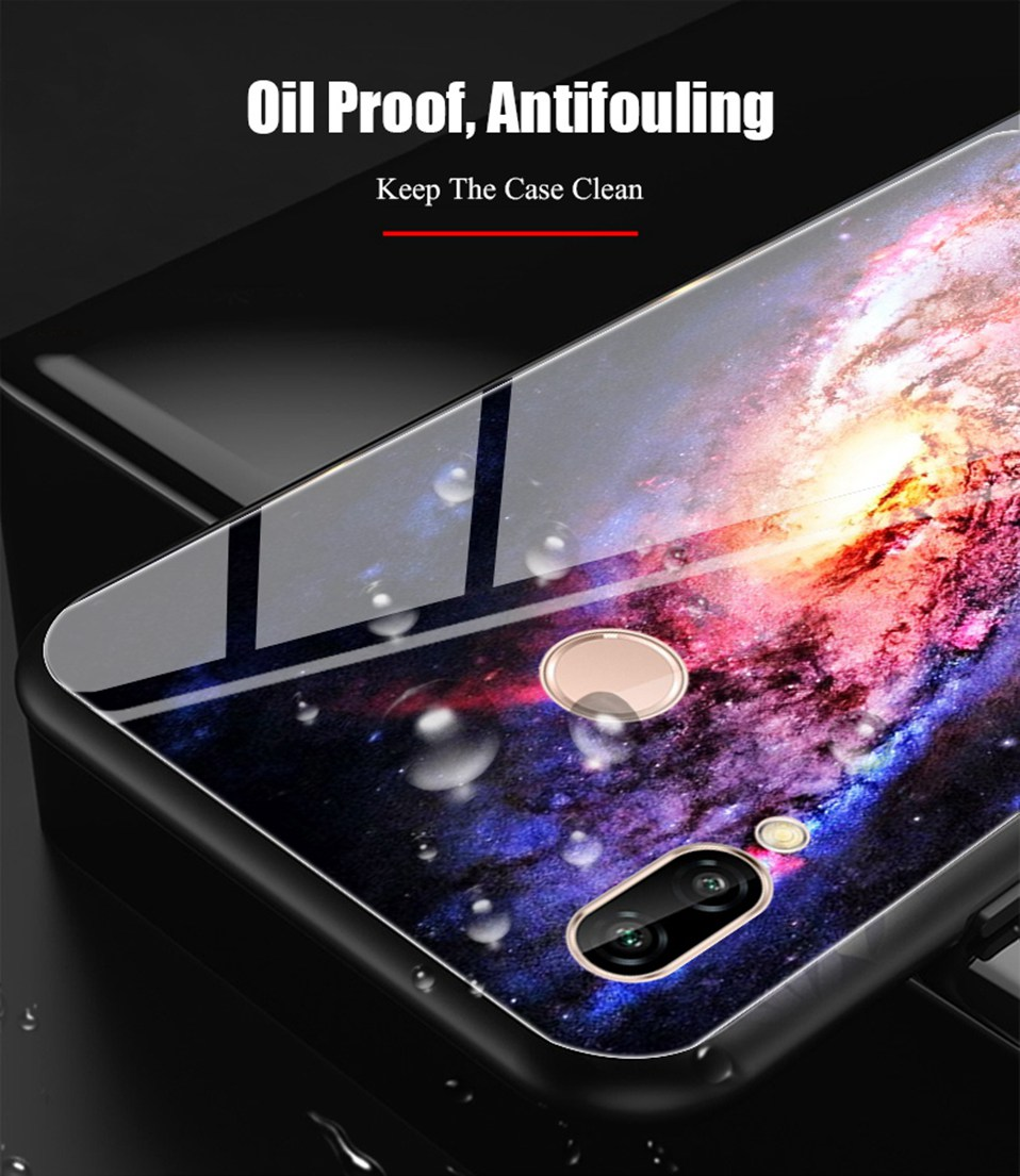 Glass Case For Huwei P20 Lite Nove 3 2i Silicone Anime Case For Huawei Honor Play 9 7A Mate 10 20 Lite P20 Pro P Smart Y6 2018   (5)