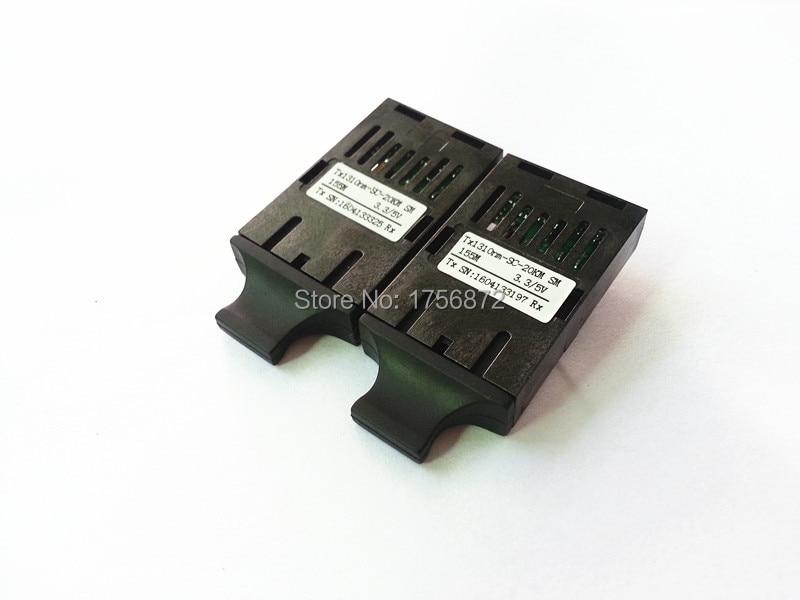 1x9 οπτικό transceive διπλής ίνας 10 / 100M 20KM SC - Εξοπλισμός επικοινωνίας