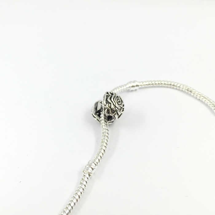 פרח בטיחות מנעולי קליפים חרוזים בלם חרוז קסמי אירופאי חרוזים Fit פנדורה צמידים & צמידי B00039