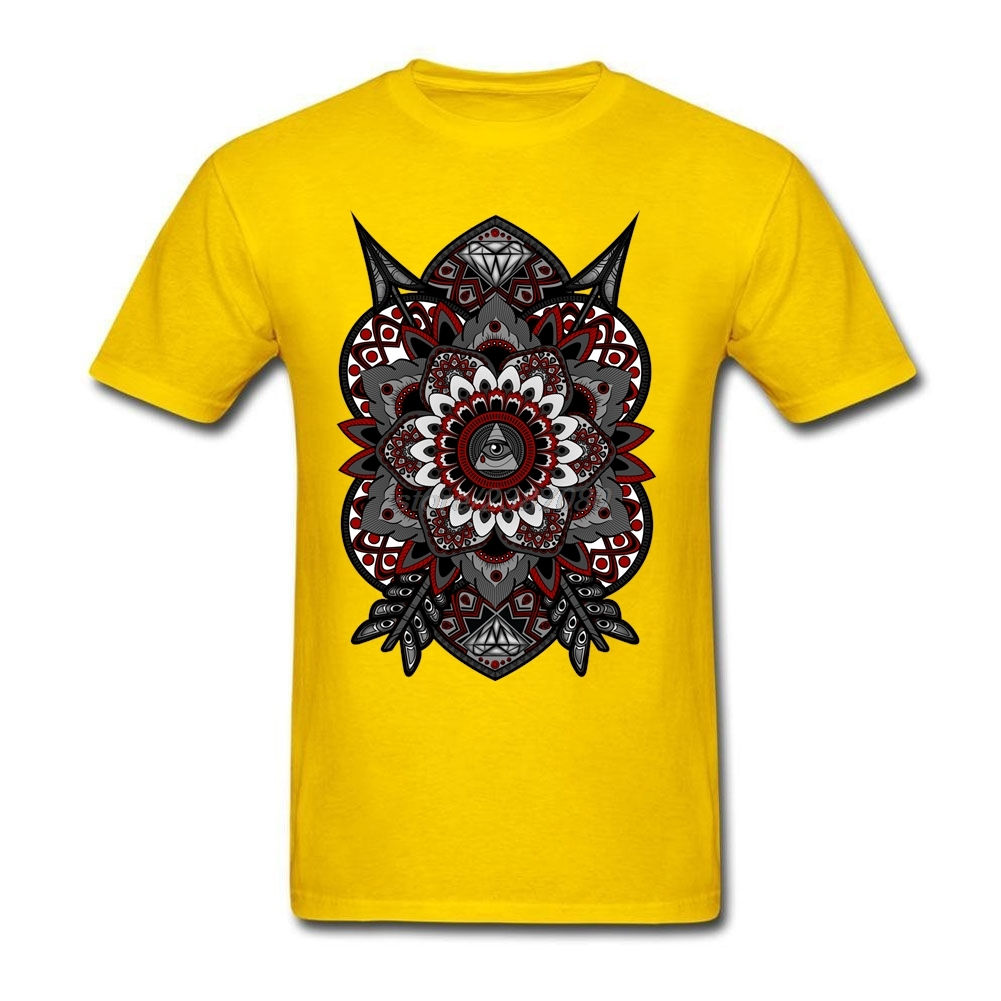 Humor Corrupted Flower Of Life Shirts Mens O Neck T Shirt Wholesale