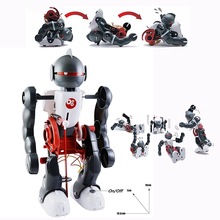 DIY 3 in 1 Tumbling Dacing Robot Assembly Robotics Science Model Kits Toy Electronic