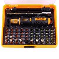 53 in 1 Multi-purpose di Precisione Magnetico Set di Cacciaviti con Trox Hex Croce Piatto Y Stella Cacciavite per telefono Pc