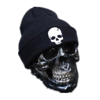 e19aacf19dc 2015 Winter Hot Sale Unisex Skull Knit Hat Acrylic Hats Skull Style Beanies  For Woman And Man Fit Gorros Unisex Skull Knit -in Skullies   Beanies from  Men s ...