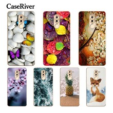 CaseRiver Huawei Honor 6X Case Cover Soft Silicone TPU Fashion Printed Drawing Phone Back Protective Case FOR Huawei Honor 6X