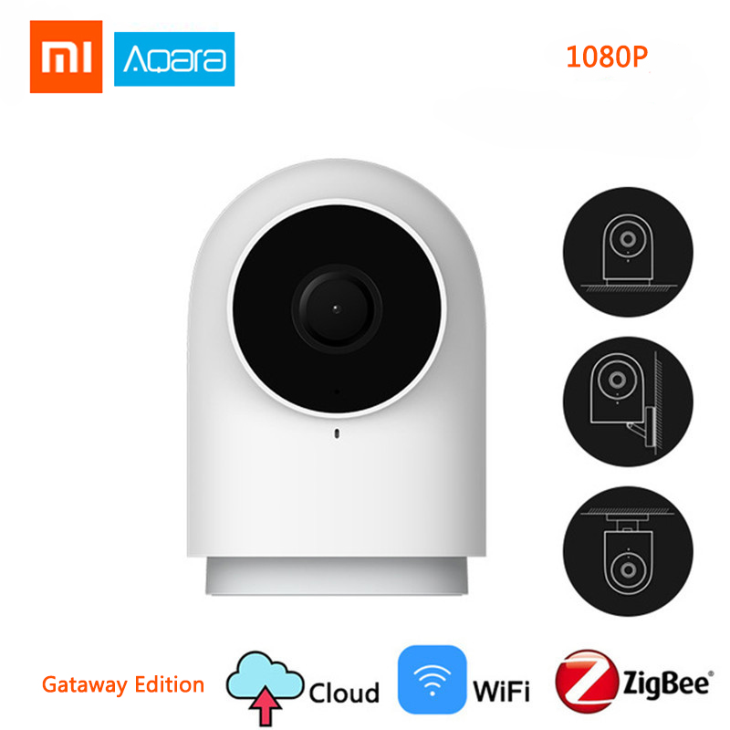 Original 1080P Xiaomi Aqara Camera G2 Gateway Edition Zigbee Linkage IP Wifi Wireless Cloud Home Security Smart Devices HomeKits
