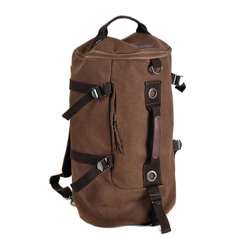 Military Tactical Backpack Male Sports Multifunctional Canvas Backpacks Large Capacity Bucket Sport Army Bag GYM Travel