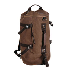 Military Tactical Backpack Male Sports Multifunctional Canvas Backpacks Large Capacity Bucket Sport Army Bag GYM Travel Rucksack цены онлайн