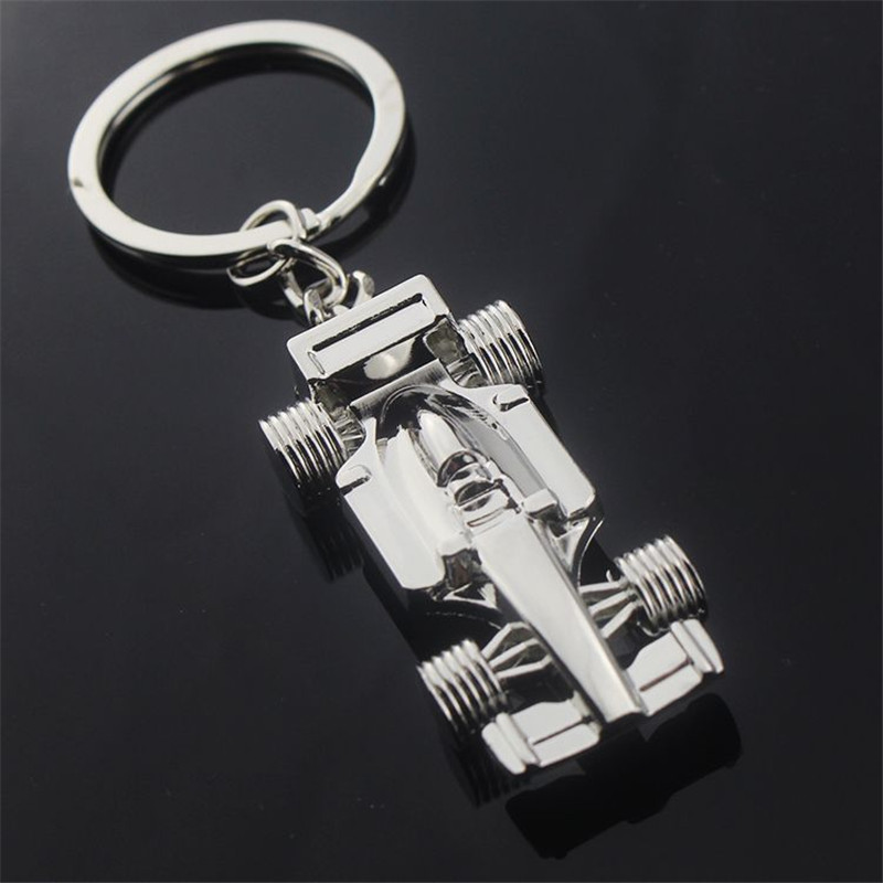 SexeMara Silver Car Design Key Chain Men Sleutelhanger Fathers Day Gift Jewelry Keyring Porte Clef llaveros Mujer Portachiavi
