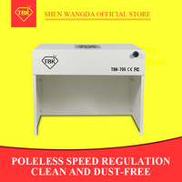 Newest protable TBK 705 Mini Dust Free Cleaning Workbench Dustfree Working Room Bench Clean Table
