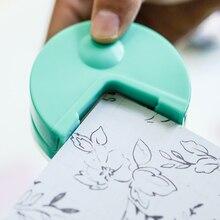 Высокое качество R4 угловой круглый 4 мм бумага удар карты Фото Резак Инструмент для ремесла скрапбукинга DIY