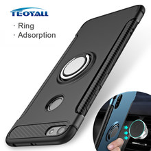 Ring Adsorption Cases for Xiaomi Redmi Note 6 Pro Global Version Case Note 5 5A Prime Cover for Xiomi Redmi 5 Plus TPU Protector(China)