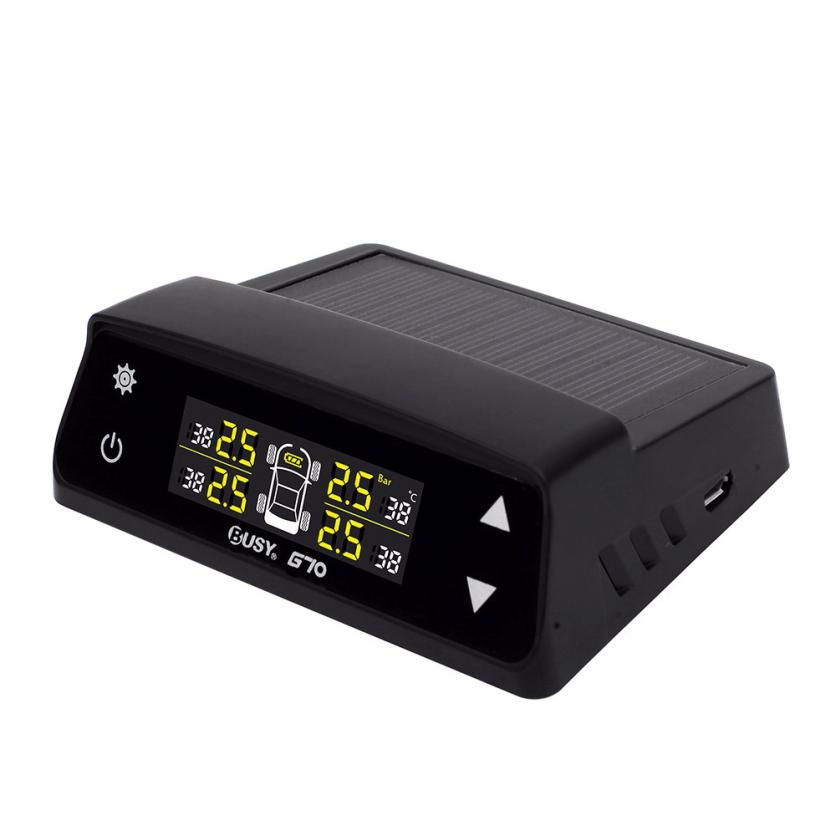 New Car TPMS Tyre Tire Pressure Monitoring System Gauge + 4 Wireless External 18mar2 Dropshipping