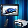Горячая 2 Din Dvd-плеер Автомобиля Double Din Car Audio Video Player DIVX/DVD/VCD/CD/USB/Bluetooth MP5 Авто Мультимедиа Плеер 6201A
