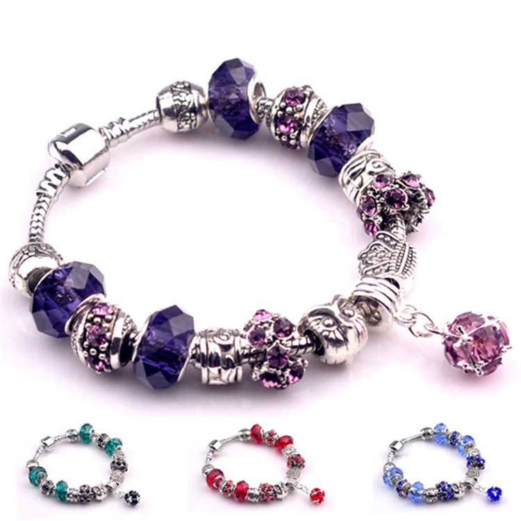 Cord Colors May Vary Set of 6 Childrens Bright Colored Cord Bracelets With Assorted Charms