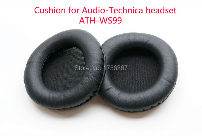 Replacement Ear pads Compatible for Audio Technica ATH W99 ATH WS99BT ATH ES10 ATH ESW10 headset Original earmuffs High quality in Replacement Parts Accessories from Consumer Electronics