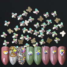 Hot Sale 20pcs 3D Rhinestones Diverse DIY Gems New Charming Mix Nail Art Decoration Jewelry Gel Glitter