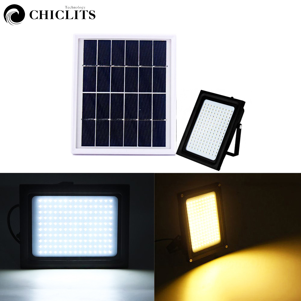 Chiclits 150 LED Solar Power Floodlight Human Body Motion Sensor Waterproof Solar Light 2835 SMD Outdoor Garden Energy Lights