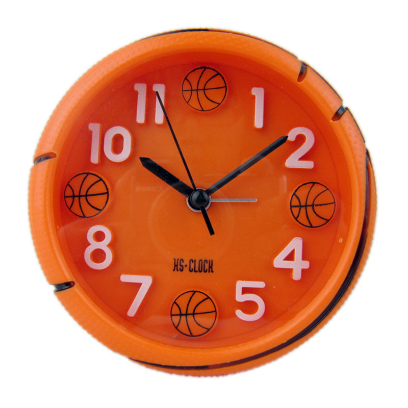 Soccer Alarm Clock Basketball Alarm Clocks Football Shaped Desktop Tabke Home Decoration Football Sports Fans Boy Birthday Gifts